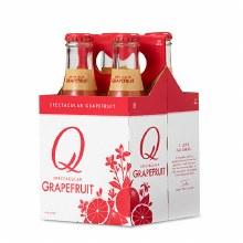 Q Grapefruit Soda 4pk 6.7oz Btl
