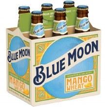 Blue Moon Mango Wheat 6pk 12oz Btl