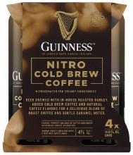 Guinness Nitro Cold Brew Coffee Stout 4pk 15oz Can