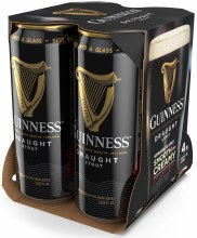 Guinness Draught 4pk 15oz Can