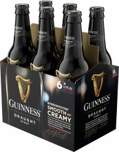 Guinness Draught 6pk 11.2oz Btl