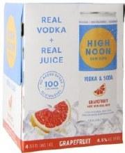 High Noon Grapefruit Hard Seltzer 4pk 12oz Can