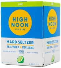 High Noon Lime Hard Seltzer 4pk 12oz Can