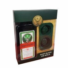 Jagermeister Gift Set with Ice Mold 750ml