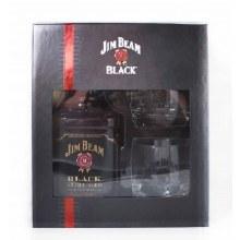 Jim Beam Black Gift Set 750ml