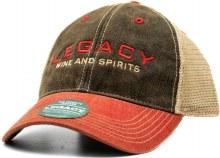 Legacy Hat - Black & Red