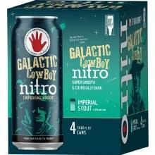 Left Hand Galactic Cowboy Nitro Imperial Stout 4pk 12oz Cn