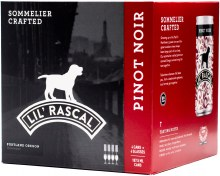 Lil Rascal Pinot Noir 4pk 187ml Can