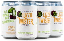 Piney River Blackberry Lizzie Twister 6pk 12oz Can
