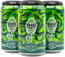 Lost Forty Small Batch Snake Party Double IPA 4pk 12oz Can