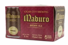 Cigar City Maduro Brown Ale 6pk 12oz Can