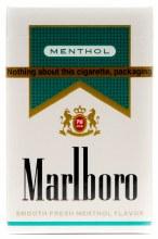 Marlboro Menthol Gold Kings Box