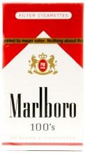Marlboro Red 100s Box