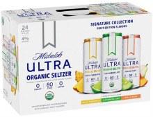 Michelob Ultra Organic Hard Seltzer Variety Pack 24pk 12oz Can