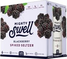 Mighty Swell Blackberry Spiked Seltzer 6pk 12oz Can