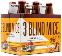Mothers Three Blind Mice Brown Ale 6pk 12oz Btl
