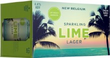 New Belgium Sparkling Lime Lager 6pk 12oz Can