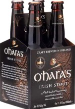 O'Hara's Irish Stout 4pk 440ml Bottle