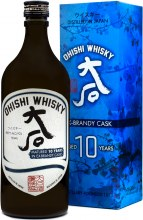 Ohishi 10 Year Ex Brandy Cask Japanese Whisky 750ml