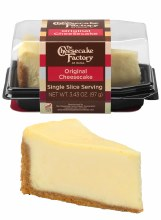 The Cheesecake Factory Original Cheesecake Single Slice Slice