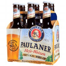 Paulaner Hefe-Weizen Natural Wheat 6pk 11.2oz Btl