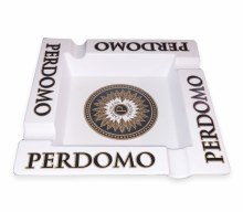 Perdomo Square Ashtray White