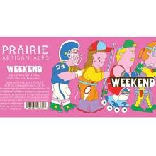 Prairie Weekend Imperial Stout 4pk 12oz Btl