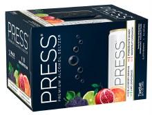 Press Hard Seltzer Variety Pack 12pk 12oz Can