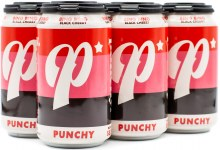 Lost Forty Punchy Bing Bing BLack Cherry Hard Seltzer 6pk 12oz Can