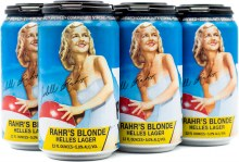 Rahr & Sons Blonde Helles Lager 6pk 12oz Can