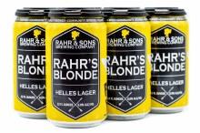Rahr & Sons Blonde Helles Lager 6pk 12oz Can