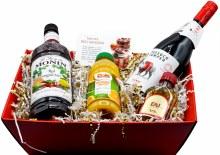 Tussock Jumper Red Sangria Gift Basket