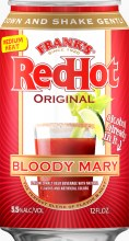 Franks Red Hot Bloody Mary 12oz Can
