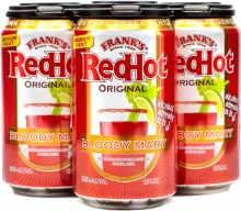 Franks Red Hot Bloody Mary 4pk 12oz Can