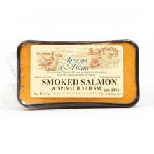 Terroirs d'Antan Smoked Salmon and Spinach Mousse Pate 7oz