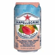 San Pellegrino Prickly Pear & Orange 11.2oz Can