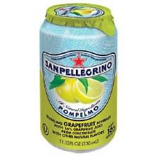San Pellegrino Pompelmo Sparkling Water 11.2oz Can