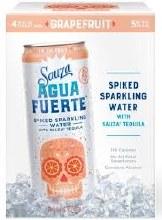 Sauza Agua Fuerte Grapefruit 4pk 375ml Can