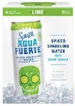 Sauza Agua Fuerte Lime 4pk 375ml Can