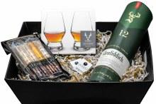 Glenfiddich & Cigars Gift Basket