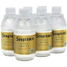 Seagram's Tonic Water 6pk 10oz Btl