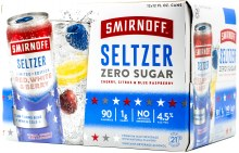 Smirnoff Red White and Berry Hard Seltzer 12pk 12oz Can