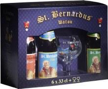 St Bernardus Deluxe Gift Pack 6pk 11.2oz Btl