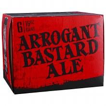 Arrogant Bastard Ale 6pk 16oz Can