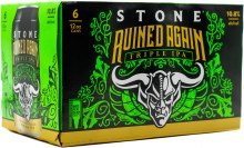 Stone Ruined Again Triple IPA 6pk 12oz Can