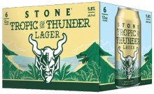 Stone Tropic of Thunder Lager 6pk 12oz Can