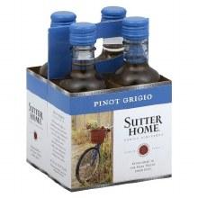 Sutter Home Pinot Grigio 4pk 187ml