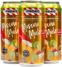 TGIFridays Moscow Mule  4Pk 16oz Can