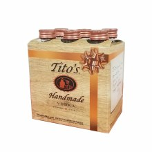 Titos Vodka Party Pack 6pk 50ml Btl