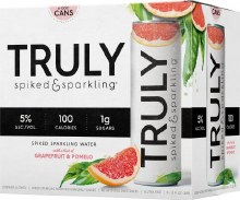 Truly Spiked & Sparkling Grapefruit & Pomelo 6pk 12oz Can